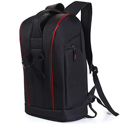 Nylon-Rucksacktasche mit Tablet-PC-Tasche für Canon Nikon Sony DSLR Camcorder