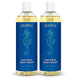 Puracy Natural Body Wash, Sulfate-Free Bath and Shower Gel