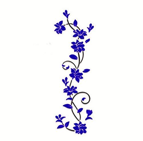 3D Flower Rose Wall Sticker