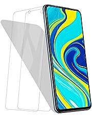 【2枚セット】 Redmi note 9s 対応 ガラスフィルム 日本旭硝子製 液晶保護フィルム Redmi note 9s 対応 フイルム 強化ガラスフィルム 高感度 硬度9H 貼り付け簡単 高透過率 指紋防止 気泡ゼロ 飛散防止 撥油性 耐衝撃