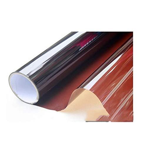 ZXL Venster films kleur folie venster glas sticker isolatie zonnebrandcrème transparant transparant papier transparante decoratieve film bruiloft 120 * 100cm, (grootte: 10 * 100cm)