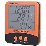 OIHODFHB Higrómetro al aire libre interior del probador del metro de la humedad de la temperatura de la función con