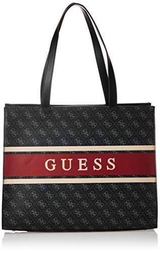 Guess Monique Tote, bolsos para Mujer, rojo, Talla única