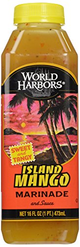 WORLD HARBORS SAUCE ISLAND MANGO 16OZ