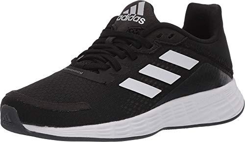 adidas unisex child Duramo Sl Running Shoe, Black/White/Grey, 11 Little Kid US