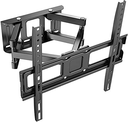 GWDFSU Soporte de Pared para TV Soporte Giratorio inclinable para TV para televisores Planos y curvos de 32-70 Pulgadas de hasta 50 kg, máx.600 x 400 mm para Sala de Estar y Dormitorio