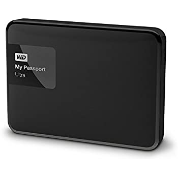 Western Digital My Passport Ultra 1TB Portable External Hard drive (Black)