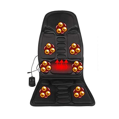 Auto massagekussen vibratiemassage stoelkussen nek taille full-body functie