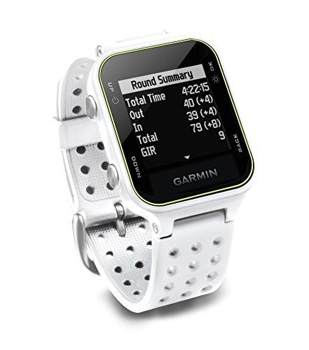 Garmin Approach S20 - Reloj de golf con GPS, Blanco (White)