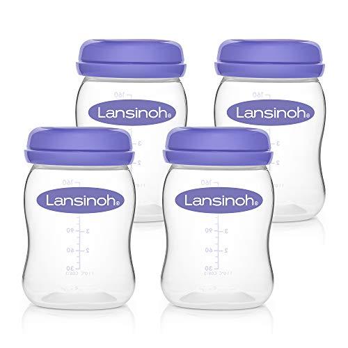 Lansinoh – Muttermilchflaschen (Weithals) - 2