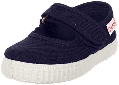 Cienta baby girls Mary Jane Flat, Navy, 6.5 Toddler US