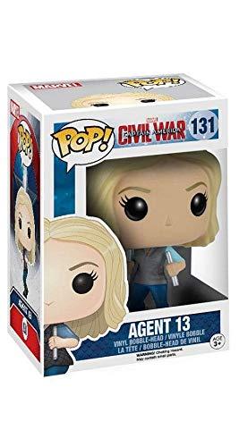 Funko Pop Agente 13 (Capitán América: Civil War 131) Funko Pop Capitán américa