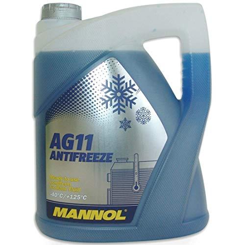 MANNOL 157184005LT MN4011-5 Longterm Antifreeze AG11-40°C Kühlerfrostschutz 5L