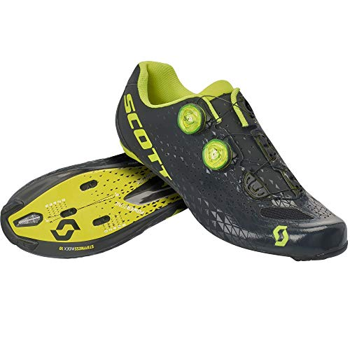 SCOTT Carretera RC Zapatillas de Ciclismo, Hombre, Ma Bl Su Yel, 48 EU