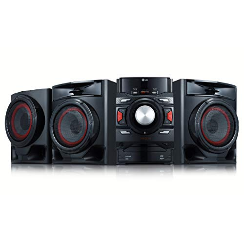of lg shelf stereos LG CM4590 XBOOM XBOOM Bluetooth Audio System with 700 Watts Total Power,Black