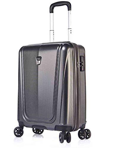 VERAGE Shield 4-Zwillingsrollen-Koffer, TSA, erweiterbar, Hartschale-Reisekoffer...