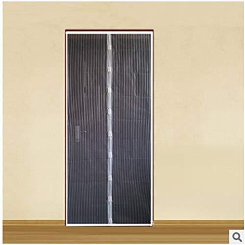2020 verano cálido familia práctica anti mosquitos mosca cortina de insectos red magnética cierra automáticamente la ventana de la puerta ventana cortina de cocina F3 W 110 x H 210 cm