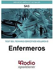 Enfermeros. Test del temario específico. Volumen 2: Servicio Andaluz de Salud. SAS