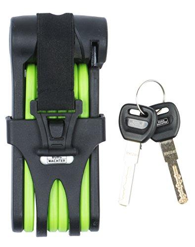 Burg wächter - Candado seguridad bicicleta 73080 verde