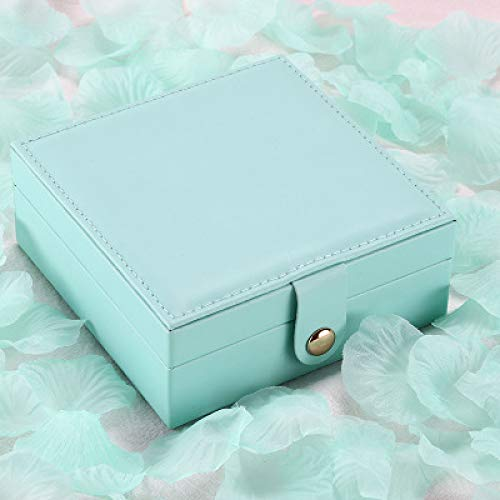 IADZ Cajas de joyería, Caja de joyería Almacenamiento de Maquillaje multifunciónCaja de Viaje de Belleza Organizador de Maquillaje de joyería
