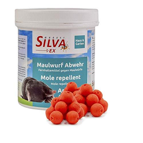 Silva Ex Maulwurfabwehr - Effektiver Maulwurfvertreiber auch gegen Wühlmäuse