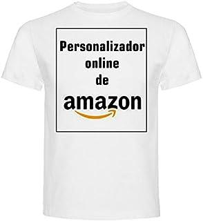 comprar comparacion Camiseta Personalizable · Hombre · Manga Corta · 100% Algodón · Impresión Directa (DTG) Impresión · ¡No es un Vinilo Impre...