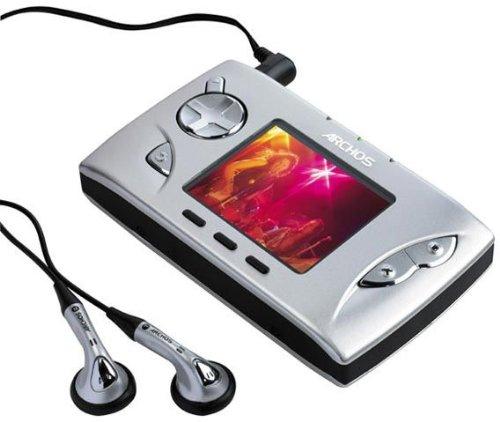 Archos Gmini 400 MP3/MPEG4-speler 20 GB zilver