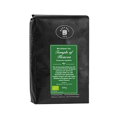 Bio Temple of Heaven 500g (37,90 Euro / kg) Paulsen Tee Grüner Tee rückstandskontrolliert & zertifiziert