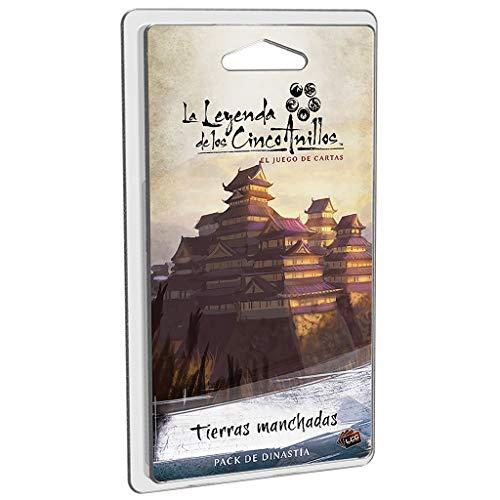 Fantasy Flight Games-La Leyenda De Los Cinco Anillos Tierras Manchadas-Español (FFL5C10) , color/modelo surtido