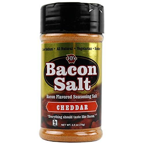 J&D Foods Cheddar Bacon Salt 2.5 Oz