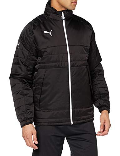 PUMA Stadium Jacket Chaqueta, Hombre, Black-White, L