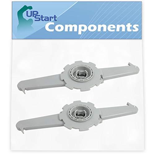 2 Pack 5304506516 Dishwasher Upper Spray Arm Replacement for Frigidaire Fdb4315lfc0, Pld4375rfc0, Pld2850rdc2, 5304506516, Pld4555rfc0, Pld2850rdc1, Fgid2466qf6a, Pld2855rfc1, Pld2850rdc3, Pld2855rfc0