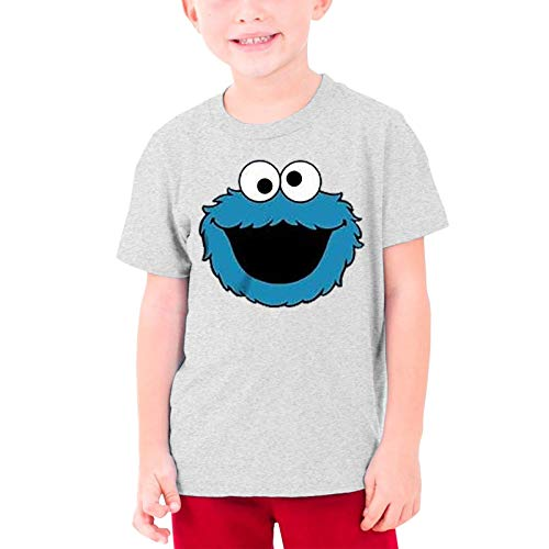 LEO Unisex Kids T-Shirt for Boys Girls 3D Printed Sesame Street Graphic Short Sleeve Teeteenage T-Shirt M