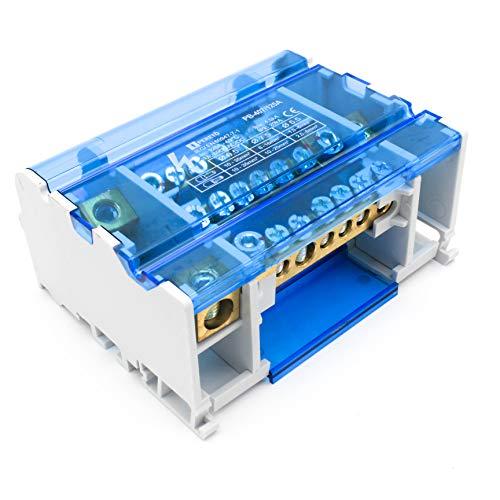 Peretó Distribuidor repartidor Corriente tetrapolar 125A - 690V