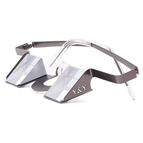 Y&Y Vertical Sicherungsbrille Classic, Steel Grey