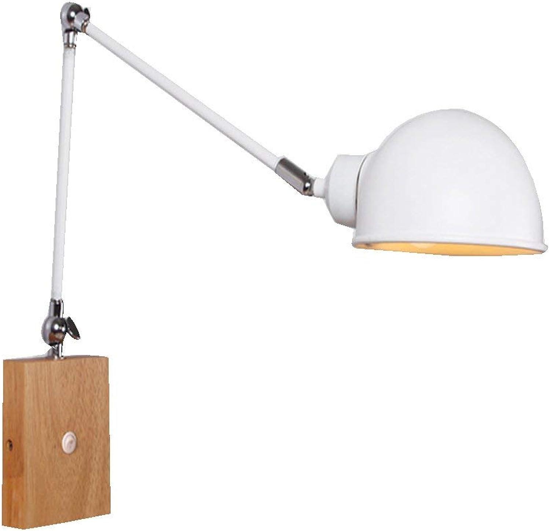 Willlly Einziehbare Lampe Der Wandlampe Der Kreativen Wand Der Wandlampe Mit Dem Schalternachttischschlafzimmer Das Hauptwandlampe Wandleuchte Home Office (Farbe   Colour-Größe)