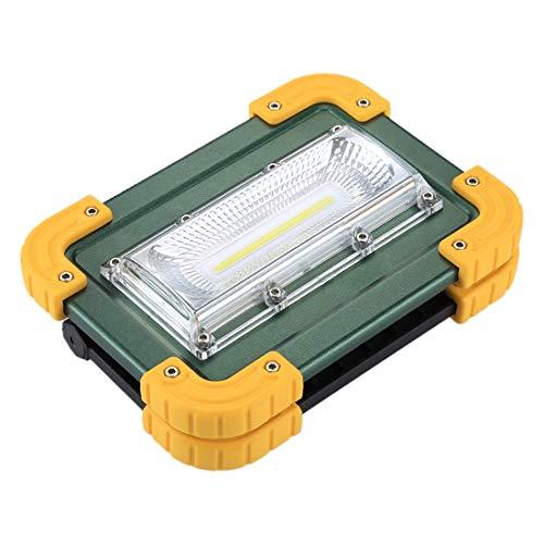 Éclairage W828 30W 2000 LM Spot à DEL COB Flash rouge + Blu-ray, Lampe de travail, Éclairage de secours extérieur avec support, Mode Haut/Moyen/Bas/Strobe L'éclairage pour vous