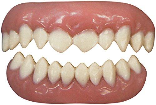 Tinsley Transfers Cannibal False Teeth FX (2 Piece), White/Pink