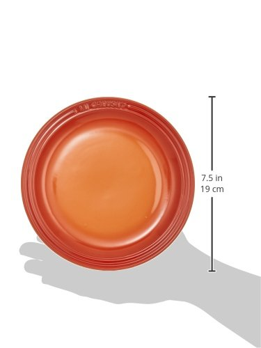 ル・クルーゼ(Le Creuset) 皿 ラウンド・プレート 18 cm レインボーコレクション 耐熱 耐冷 電子レンジ オーブン 対応 6枚 入り 【日本正規販売品】