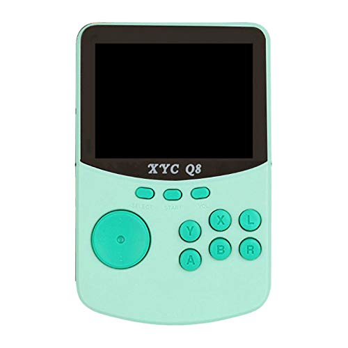 Basage RéTro Nostalgique 16 Bits Ordinateur de Poche Console de Jeu XYC Q8 Jeu D'Arcade