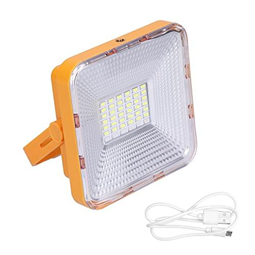 Luz de trabajo solar, lámpara de camping solar Carga USB para viajes al aire libre para picnic