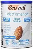 Ecomil Nature, Bebida de Sin Azúcares Añadidos (Calcio), Almendra, 400 Gramos