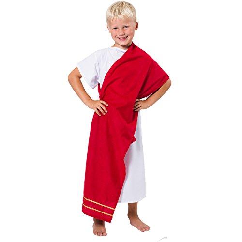 déguisement grec tunique blanche pour garçon 140 cm