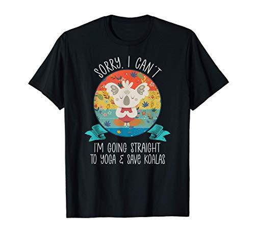 Lo siento, no puedo, voy directamente al yoga y a salvar a Camiseta