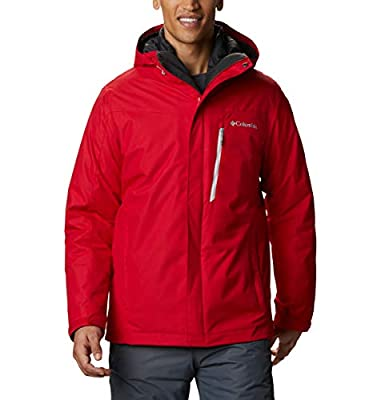 Columbia Men's Whirlibird IV Interchange Jacket, Mountain Red, XLT