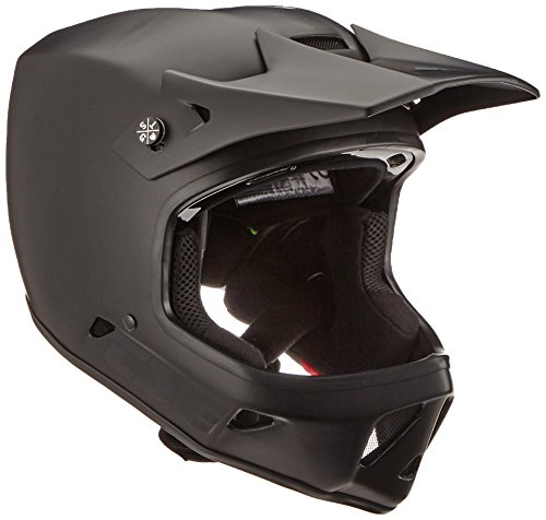TSG Helm Advance Solid Color Vollvisierhelm, satin black, XL