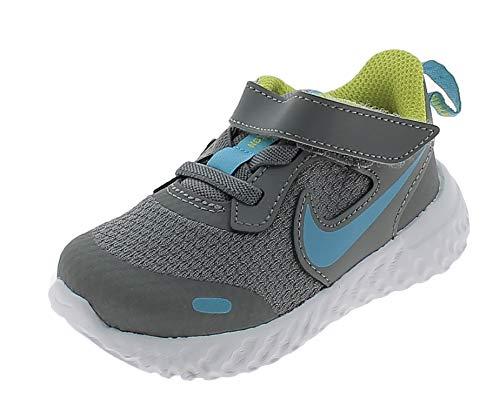Nike Revolution 5 PSV Scarpe Sportive Bambino Grigie BQ5672019 Grigio 32 EU