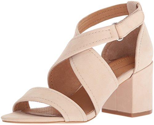 CC Corso Como Women's CC-NATTIE Heeled Sandal, Nude, 9 Medium US