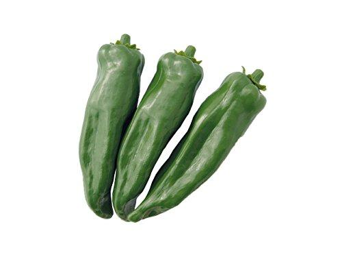 Spitz pimientos verde Juego de 3–hohlattr Appe de plástico, alimentos, imitación Fake Food, decoración, verduras falsa, Idea de Regalo, pimientos falsa