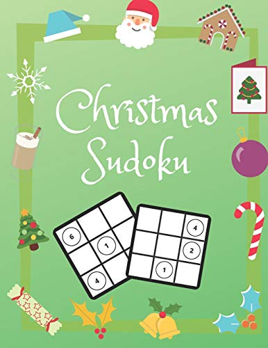 Christmas Sudoku: 100 Pages With Sudokus On Easy Level for Christmas Time | Solve And Relax In Your Quiet Time | Large Print, Perfect Gift For Everyone (125 Pages, 8.5 x 11)
